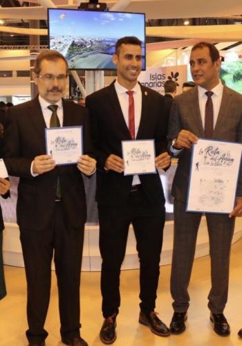 FITUR 2019 PRESENTACIÓN DE LA RUTA DEL AGUA DE LA OLIVA